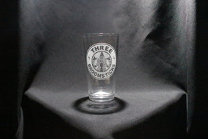 3 Broomsticks Starbucks Inspired Pint Glass