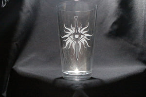 Inquisition Inspired Dragon Age Pint Glass