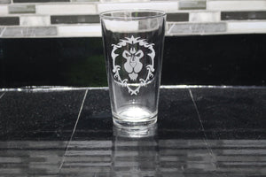 Alliance Inspired Pint Glass