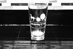 Cinderella Coach Inspired Pint Glass