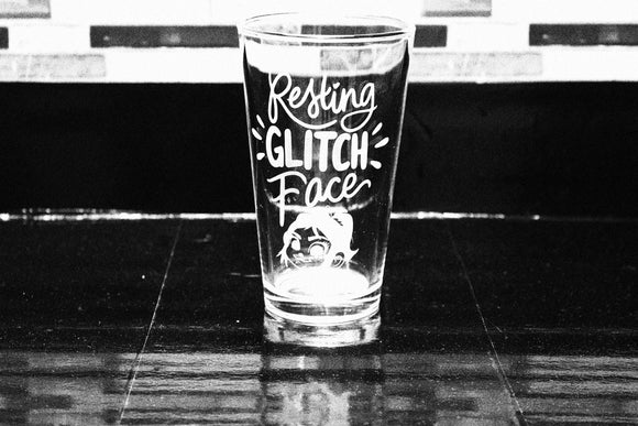 Wreck it Ralph Vanellope Inspired Pint Glass