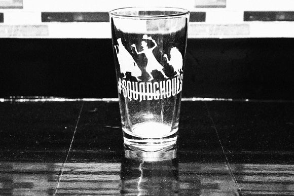 Hitchhiking Ghosts Haunted Mansion Inspired Pint Glass