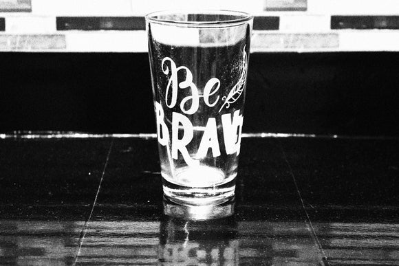 Merida Brave Inspired Pint Glass