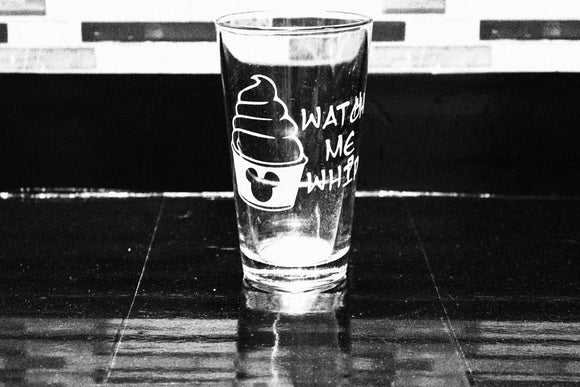 Dole Whip Inspired Pint Glass