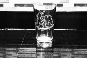 Jem Inspired Pint Glass