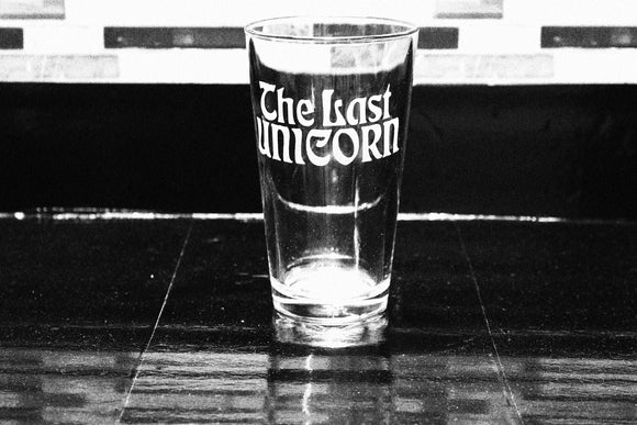Last Unicorn Inspired  Pint Glass