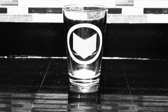 Hawkeye Inspired Pint Glass
