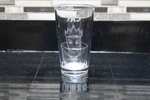Yas Queen Inspired Pint Glass