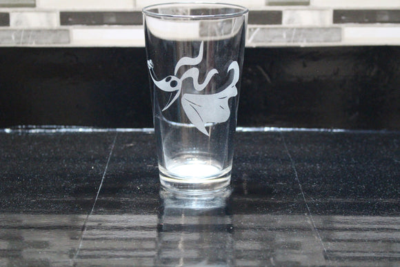 zero Inspired Pint Glass