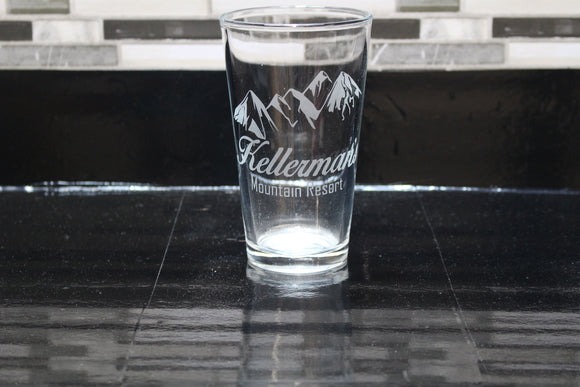 Dirty Dancing Kellerman's  Inspired  Pint Glass