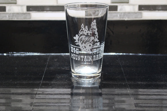 Big Thunder Inspired Pint Glass