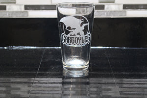 Gargoyles Inspired  Pint Glass