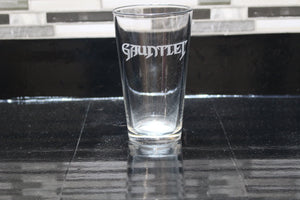 Gauntlet Inspired Pint Glass