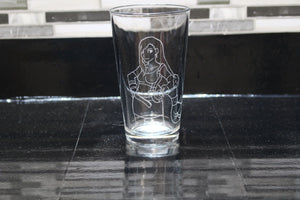 Tifa Inspired Pint Glass