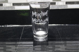 Mischief Managed Pint Glass