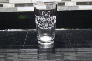 Powerpuff Girls Inspired  Pint Glass