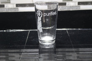 Warhammer Purified Inspired Pint Glass
