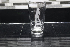 DDR Dance Dance Revolution Inspired Pint Glass