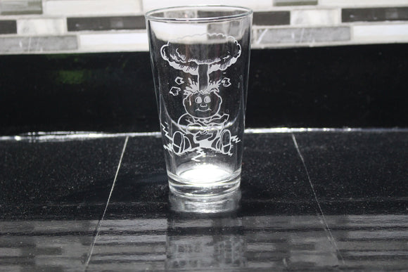 Garbage Pail Kids Inspired  Pint Glass