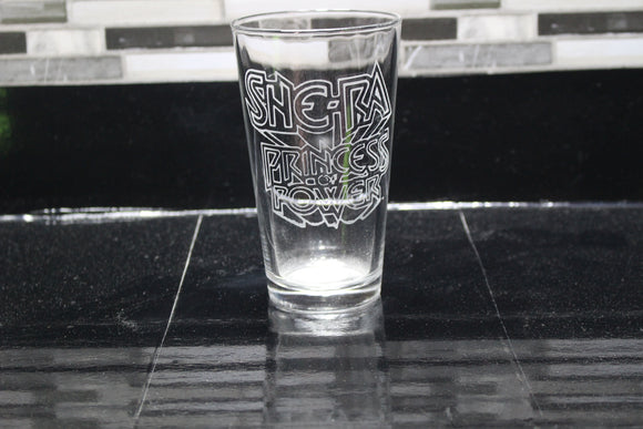 SheRa Inspired Pint Glass