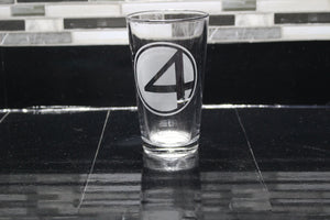 Fantastic 4 Inspired Pint Glass