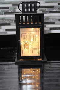 Matt Smith Inspired Tardis Lantern