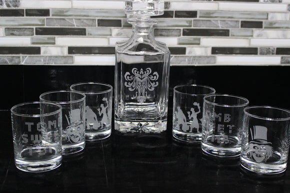 Happy Haunts Decanter Set