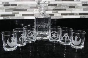 Far Far Away Decanter Set