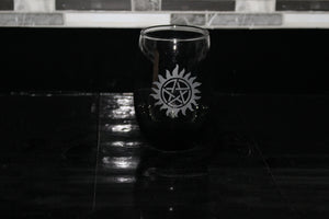 Supernatural stemless wine