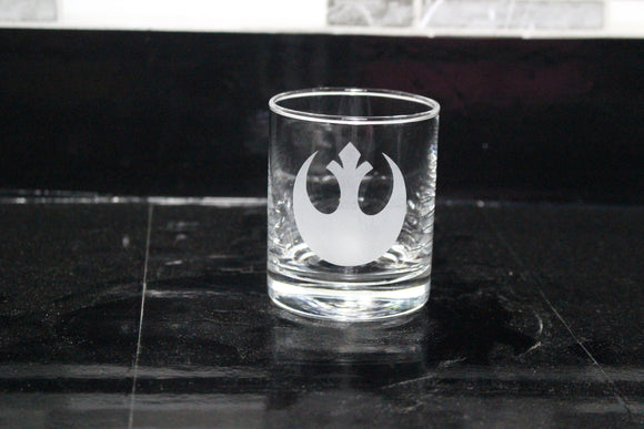 Rebel Rocks Glass