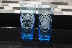 Madame Leota Glass Set
