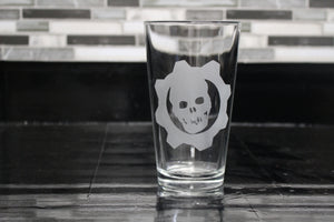 Gears Of War Pint Glass