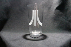 Atari Inspired Pint Glass