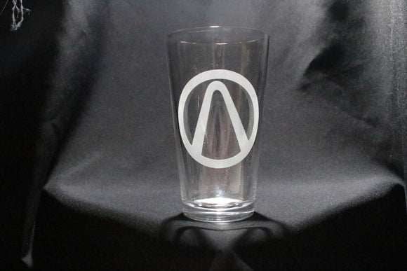 Borderlands Inspired Pint Glass