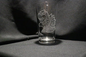King Koopa Pint Glass