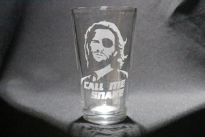 Call Me Snake Escape From LA Inspired Pint Glass