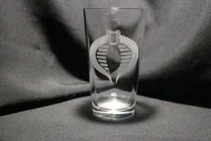 Cobra Inspired Pint Glass
