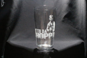 Get To Da Choppa Predator Pint Glass