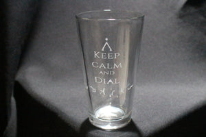 Stargate Dial Home Pint Glass