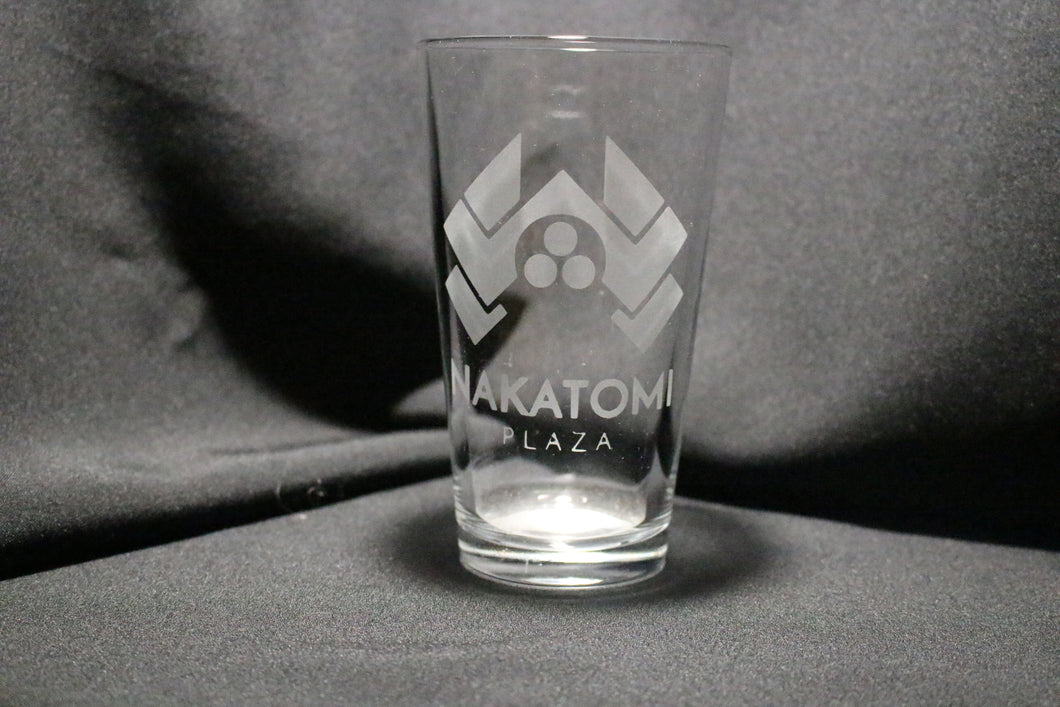 Die Hard Nakatomi Tower Pint Glass