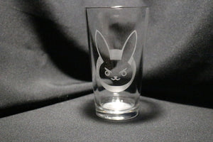 D.Va Bunny Overwatch Inspired Pint Glass