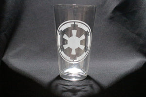 Empire Inspired Star Ware Pint Glass