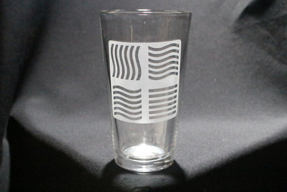 Fifth Element Inspired Pint Glass