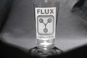 Flux Capacitor Pint Glass