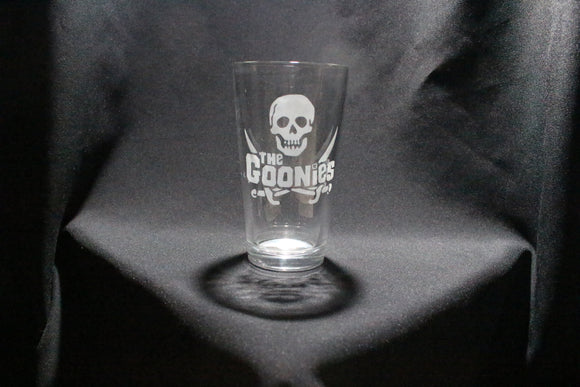 Goonies Inspired Pint Glass