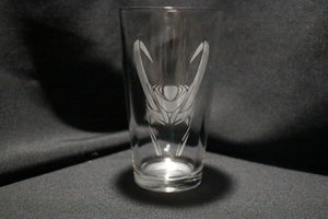 Loki Inspired Pint Glass