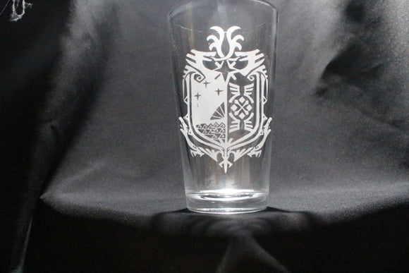 Monster Hunter Pint Glass