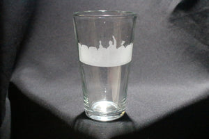 Mystery Science Theater Inspired Pint Glass