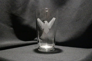 Nightwing Pint Glass