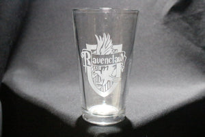 Ravenclaw Inspired Pint glass